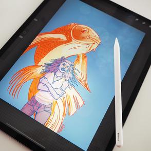 Digitales Zeichnen und Malen mit iPad und Procreate