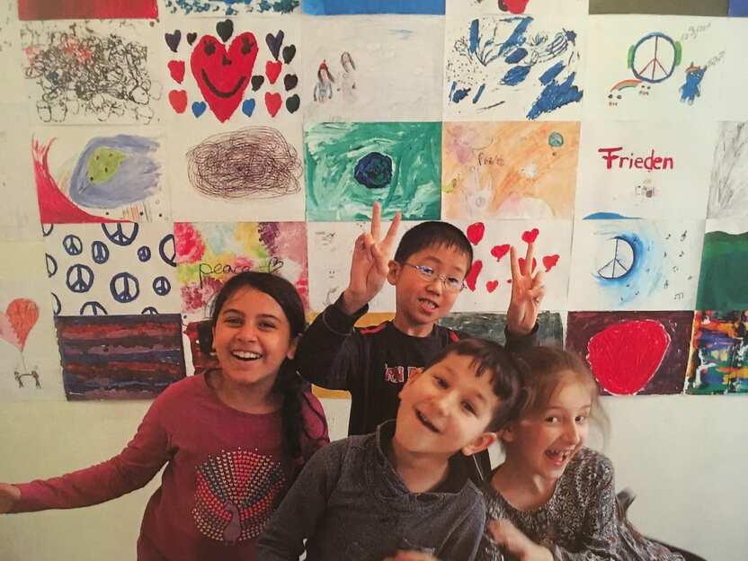 So erleben unsere Kinder den Frieden