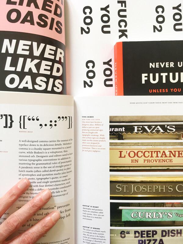 Auswahl an Büchern und Magazinen