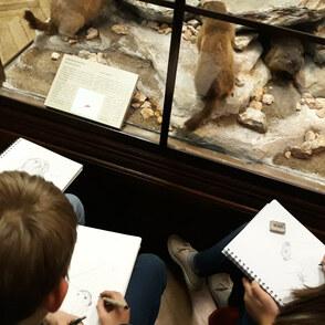 Mit Stift und Papier durch Wiens schönste Museen
