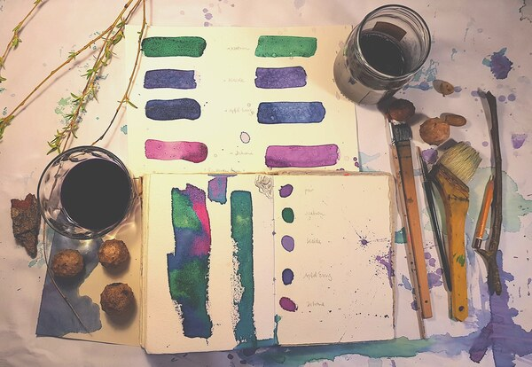 In der Farbenküche