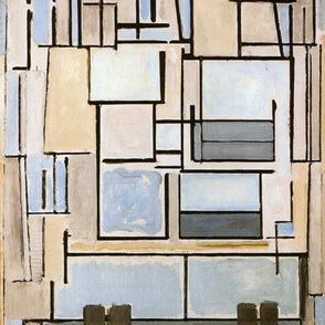 Malen wie: Mondrian