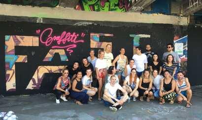 Graffiti als Teambuilding