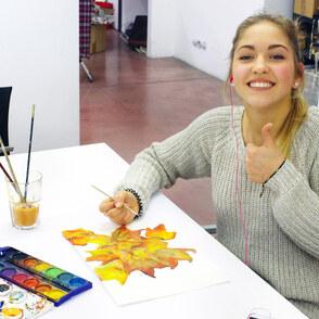 Freies Gestalten und Mappenvorbereitung für Jugendliche