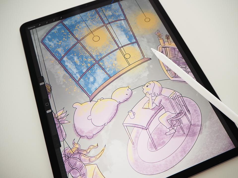 Digitale Kunstwerke erschaffen mit iPad und Procreate