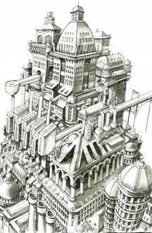 Basics für Comic und Illustration: Raum, Architektur & Perspektive