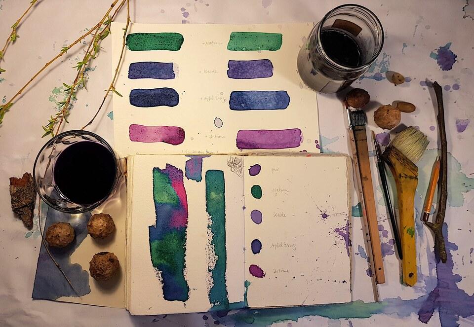 Farbenspiel: Von wilden Planzen, natürlichen Pigmenten und essbaren Farben