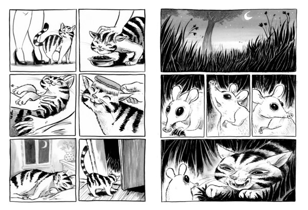 """Das Geschenk (aus: Tisch 14, Ausgabe Nr. 5 """"Alles für die Katz"""")"""