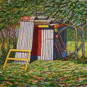 Landscape Lino Printing