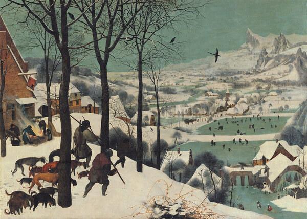 Pieter Bruegel d. Ä. / Die Jäger im Schnee
