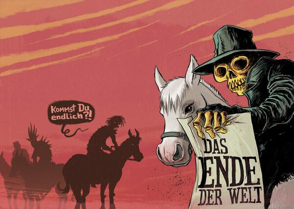 Das Ende der Welt, Tisch14-Cover