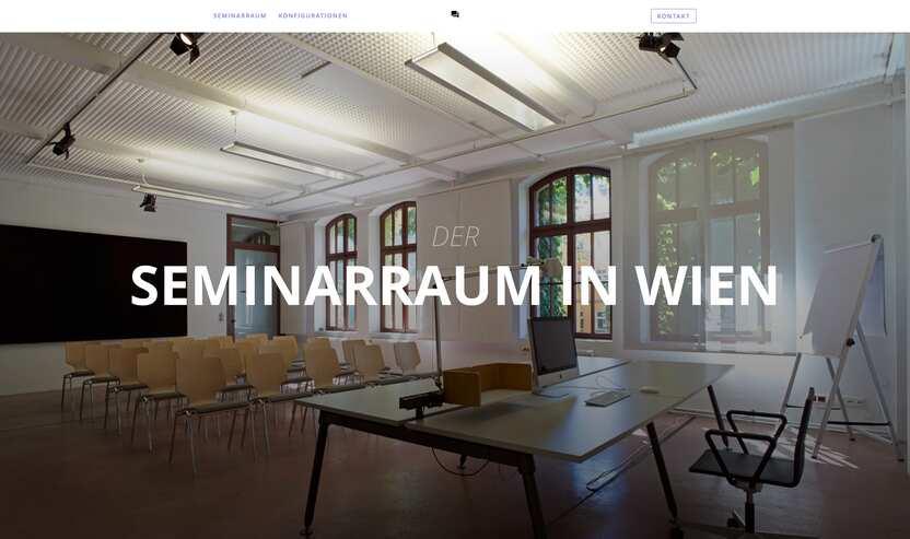 Seminarraum Zeichenfabrik