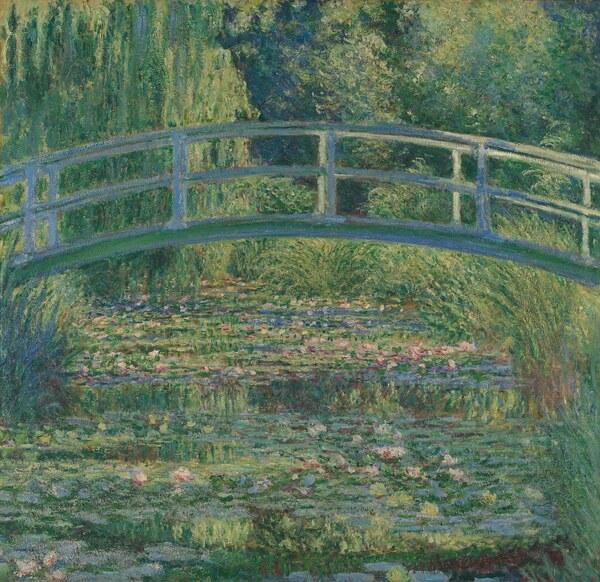 Claude Monet / Le Bassin aux nymphéas, harmonie verte