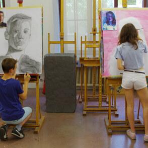 Gesichter und Menschen darstellen
