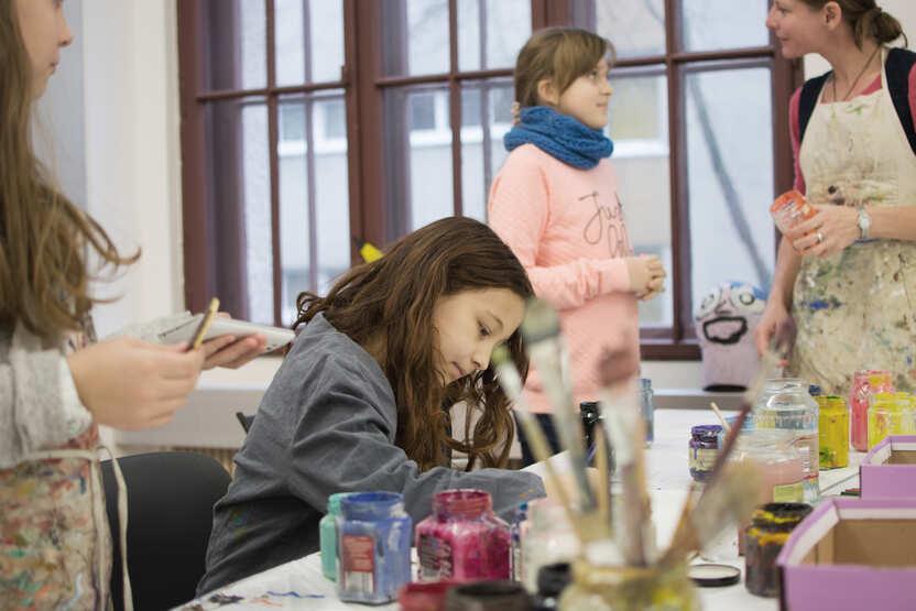 Kinderkurs Zeichenfabrik, Foto © Hoa Luo