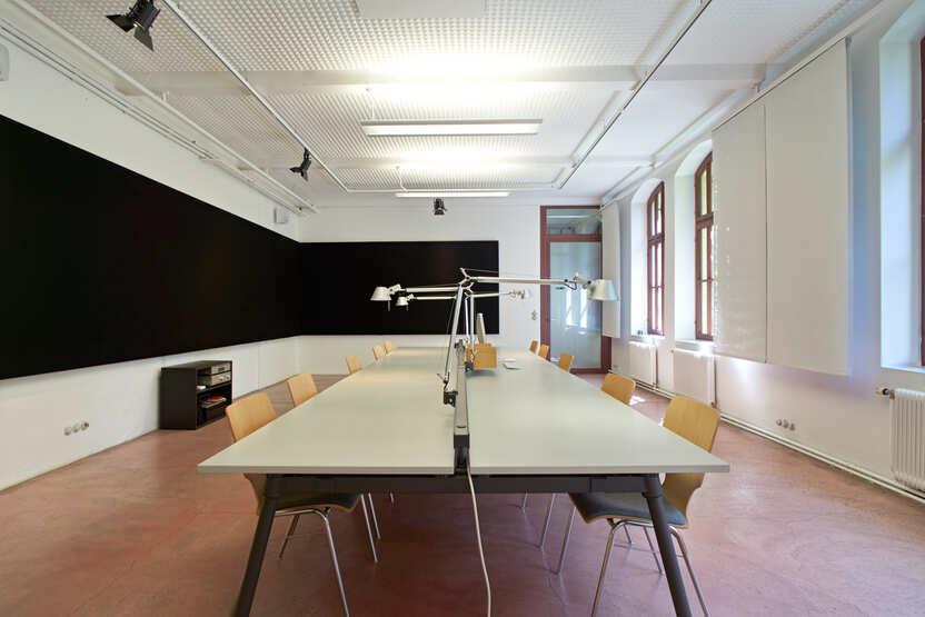 Seminarraum Tisch-Bestuhlung