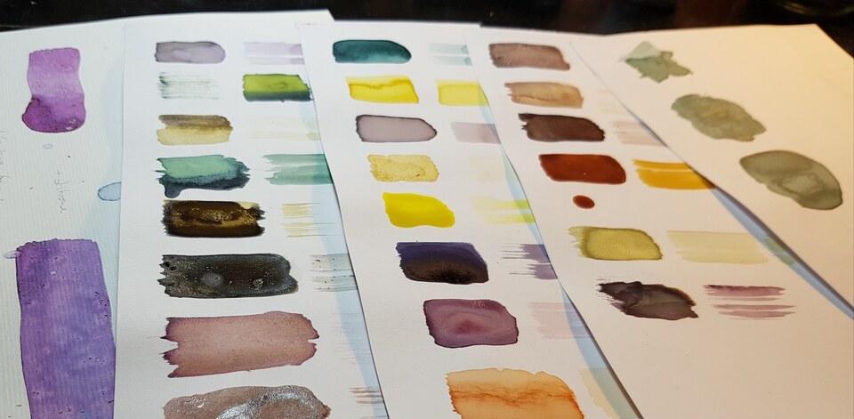 Natürliche Farben selbst herstellen