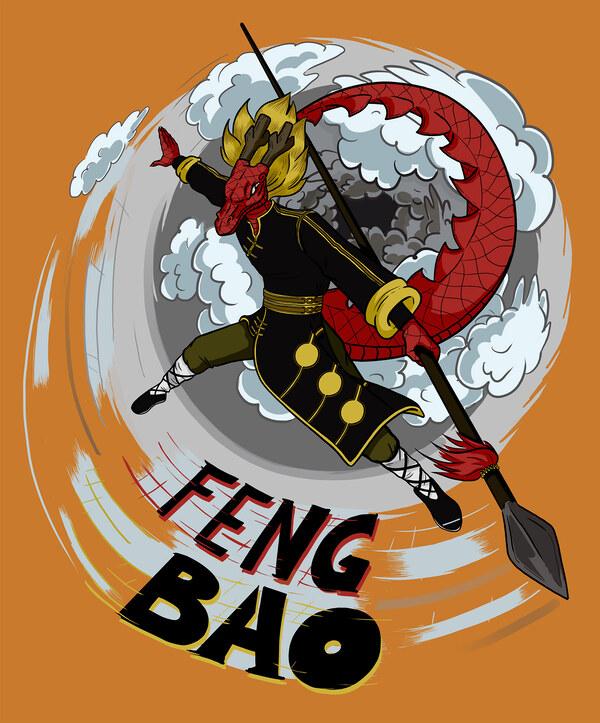 Long der Drache - für Fengbao Kung Fu