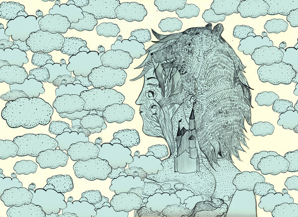 Illustration zum Buch Zehra