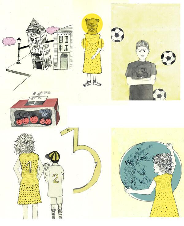 Illustrationen zum Buch Zehra