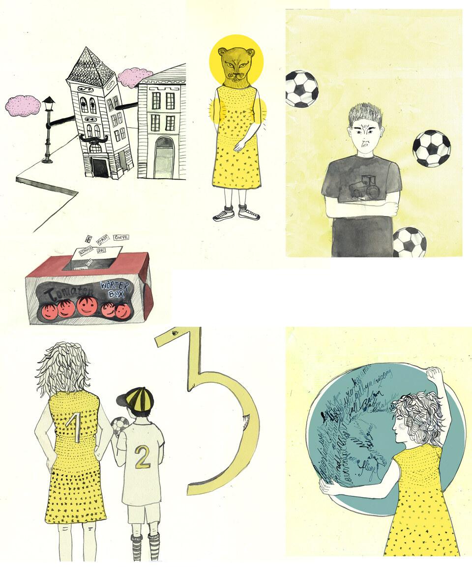 DeinKinderbuch: Die ersten Schritte