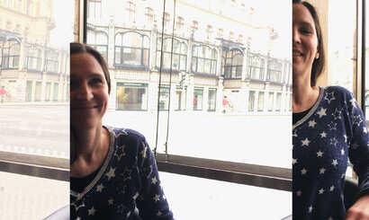 Artists talk: Malerei von und mit Geraldine Blazejovsky