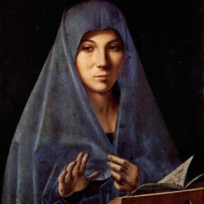 Malen wie Antonello da Messina