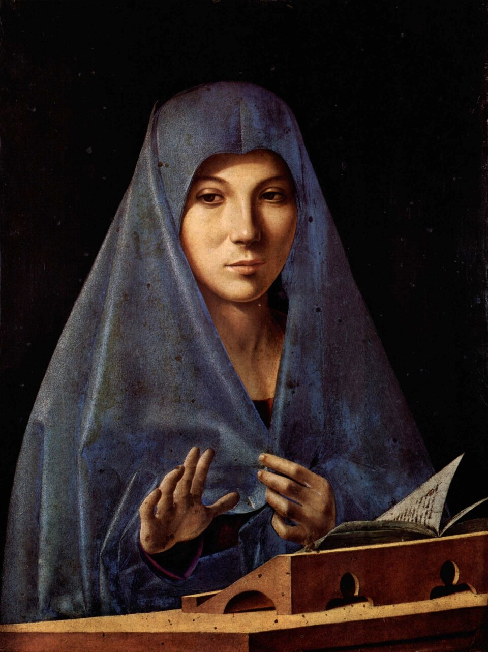 Malen wie Antonello da Messina