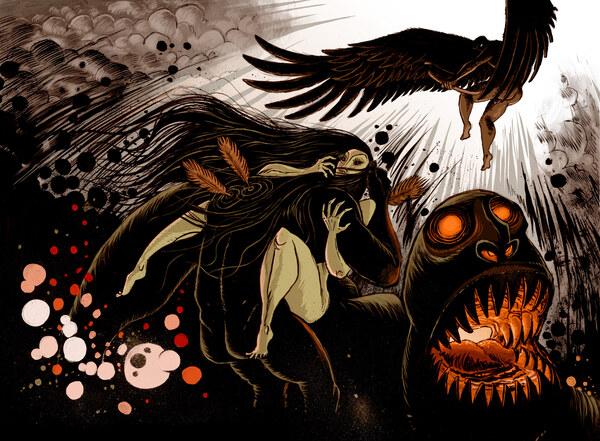 Chaos - Die Entstehung der Götter, 1. Comicversion