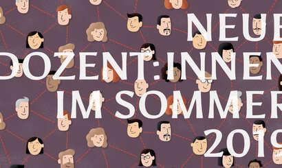 Neue Dozent/innen im Sommersemester 2019
