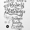 Basiskurs Lettering mit Brushpens, Pinseln & Co