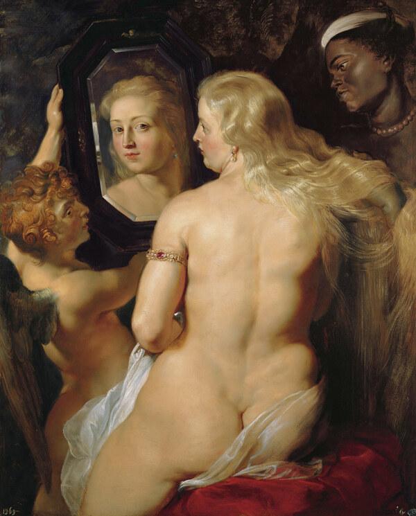 Peter Paul Rubens / Venus vor den Spiegel