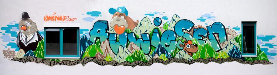 Graffiti Workshop für Jugendliche