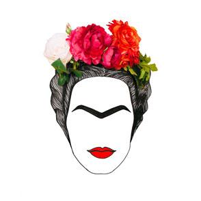 Malen wie: Frida Kahlo
