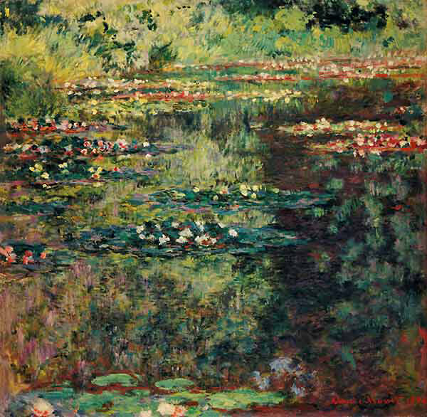 Claude Monet / Seerosenteich